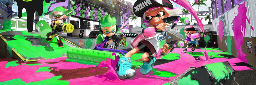Splatter Some Ink For Splatoon!