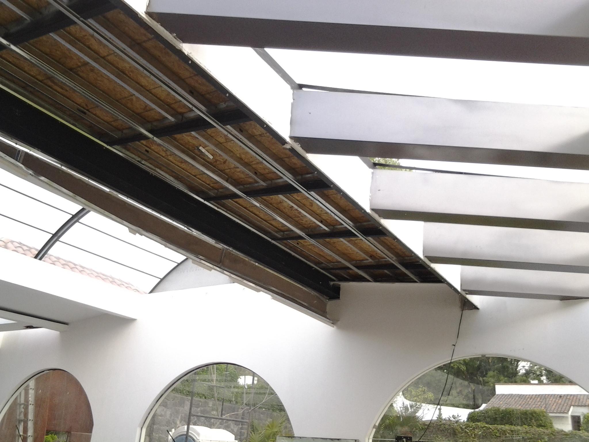Diseño e Instalación de Plafones de Bajo Impacto.