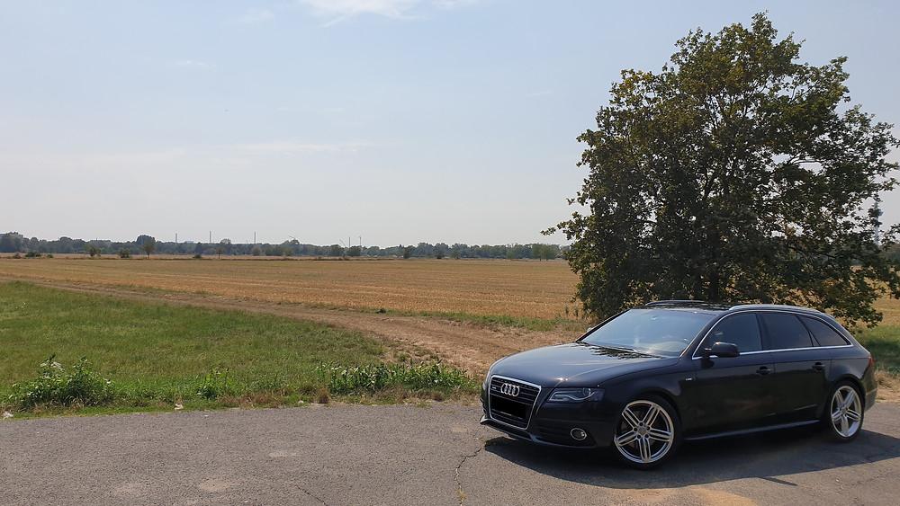 Import Auto Allemagne - Auto Convoi Allemagne - Audi A4 Avant S-Line 3.0 TDI Quattro 240ch