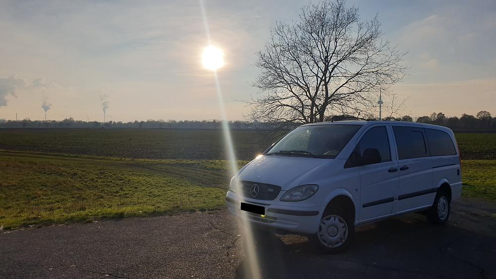Import Auto Allemagne - Auto Convoi Allemagne -  Mercedes Benz Vito long 4-matic 2.2 CDI 150ch