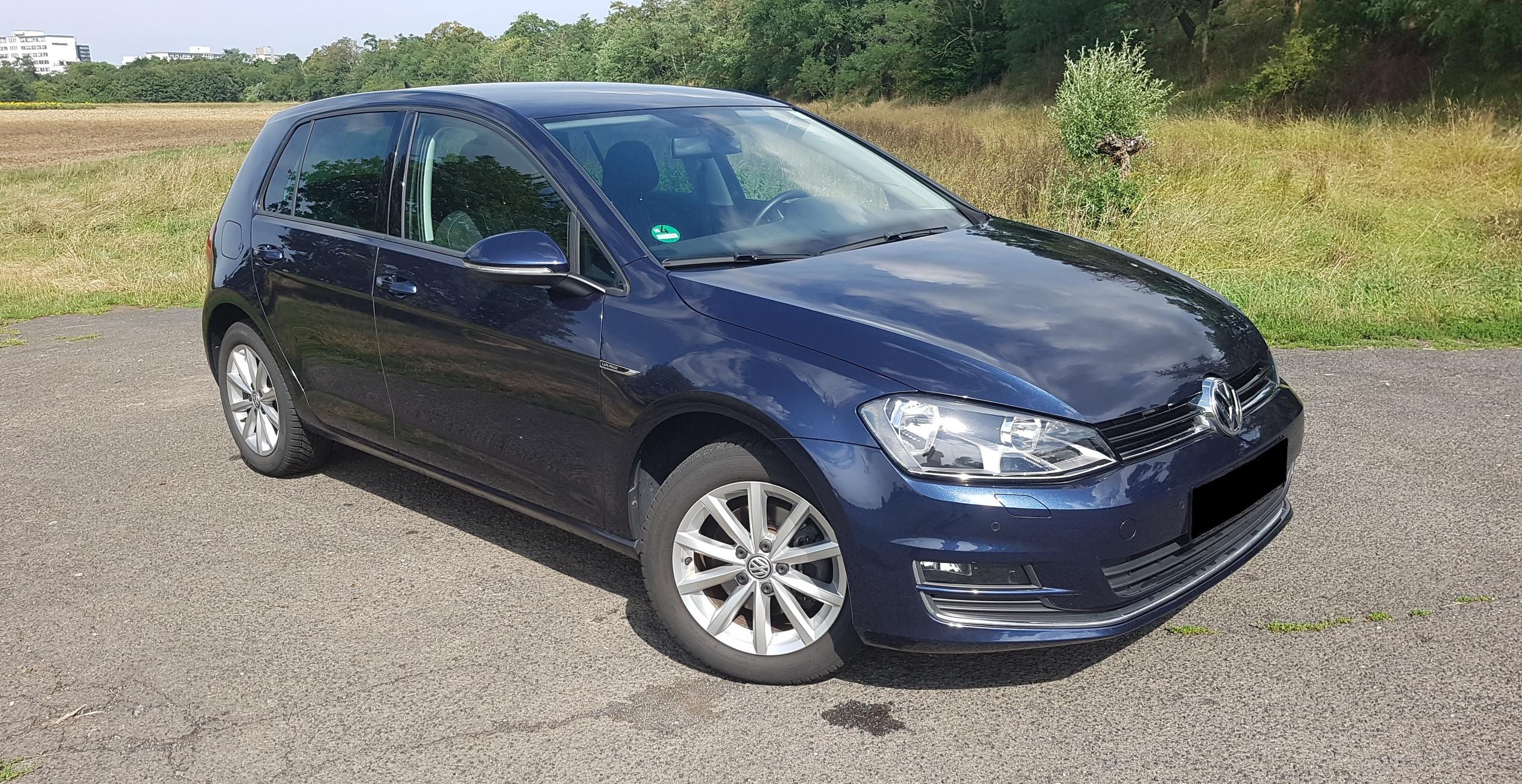 Import Auto Allemagne - Auto Convoi Allemagne - Volkswagen Golf 7 Lounge Bluemotion 1.6 TDI 110ch