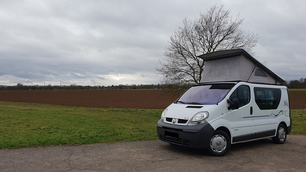 Import Auto Allemagne - Auto Convoi Allemagne - Adria 3-Way-Space 2.5 dCi 135ch (Renault Trafic)