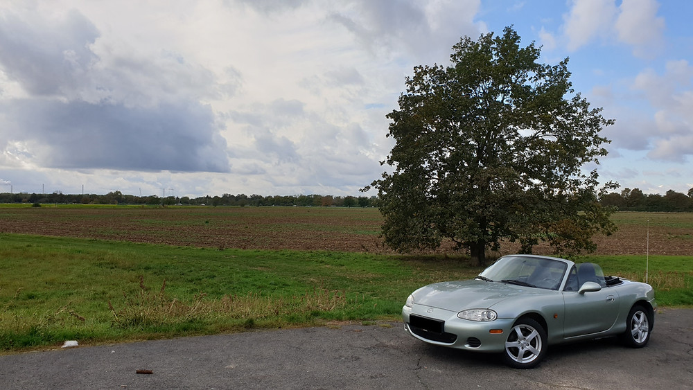 Import Auto Allemagne - Auto Convoi Allemagne -  Mazda MX-5 1.8 145ch Silver Blues