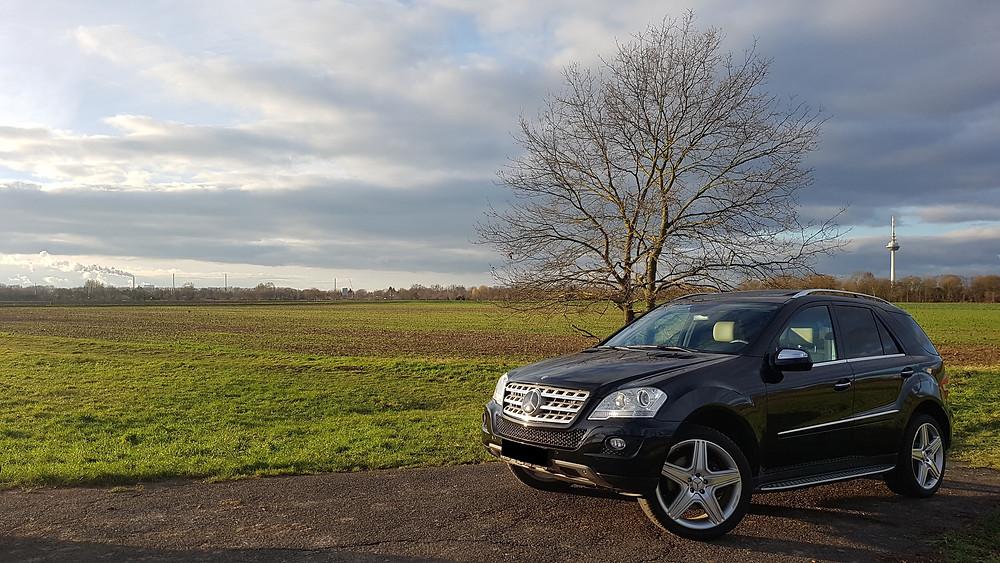 Import Auto Allemagne - Auto Convoi Allemagne - Mercedes Benz ML 420 CDI V8 4-matic Designo 306ch