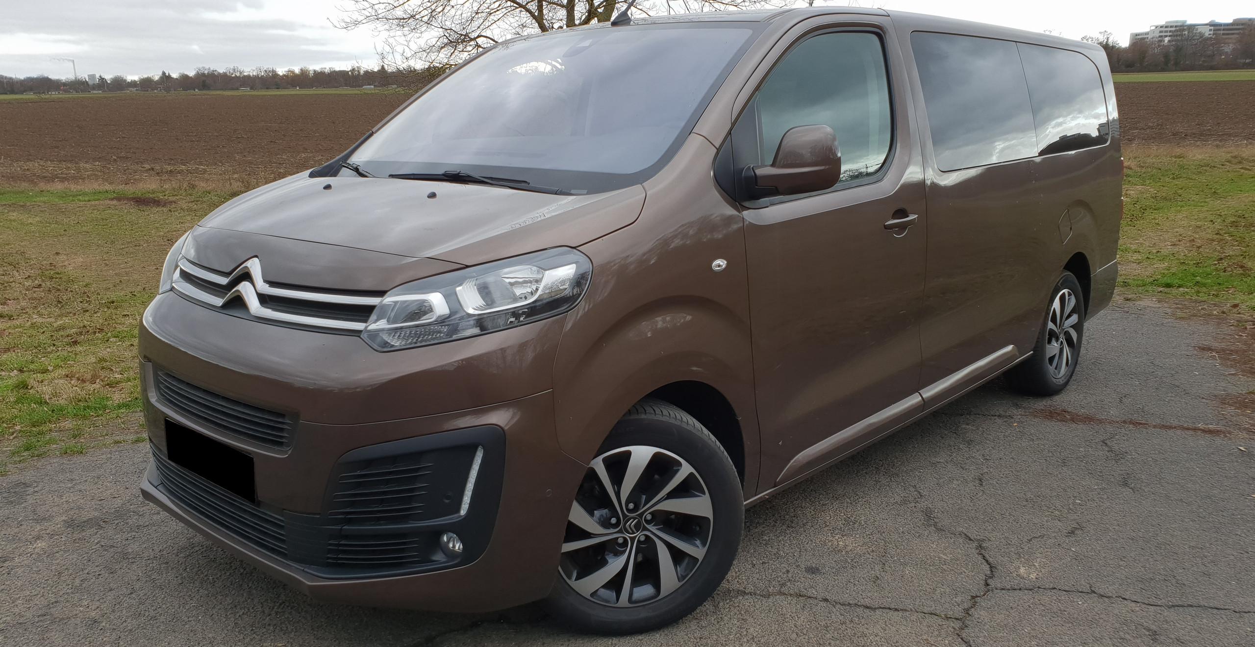 Import Auto Allemagne - Auto Convoi Allemagne - Citroën Spacetourer XL 1.6 BlueHDI 116ch S&S Feel