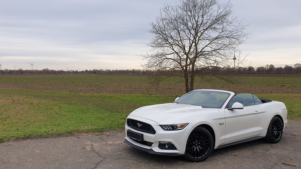 Import Auto Allemagne - Auto Convoi Allemagne -  Ford Mustang GT Cabriolet 5.0 V8 421ch