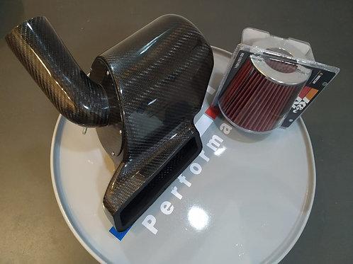 Intake para Golf GTI em FIBRA DE CARBONO c/ K&N