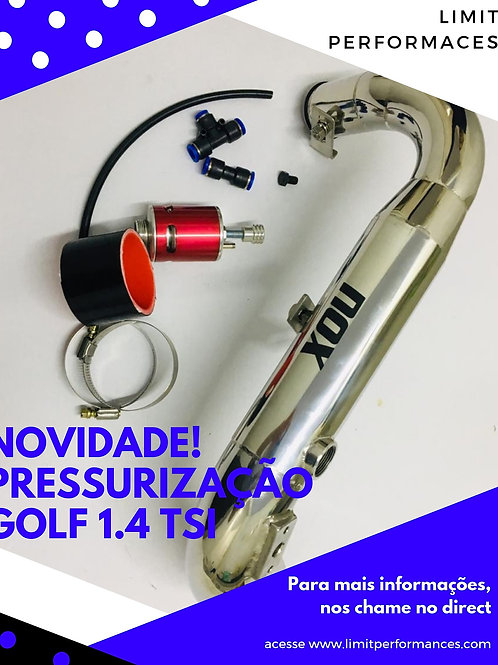 Pressurização GOLF e JETTA 1.4 TSI em INOX
