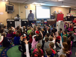 Grandview Elementary Author Talk