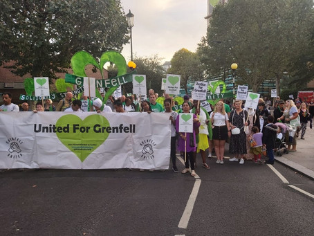 Grenfell Silent Walk | No Justice Two Years On