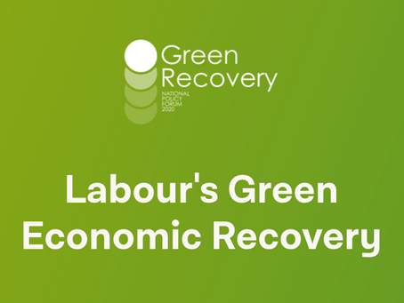 Labour's Green Economic Recovery