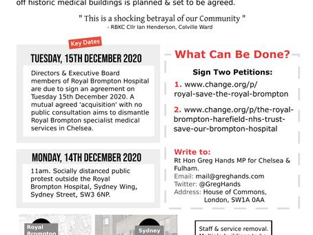 Save The Royal Brompton Hospital