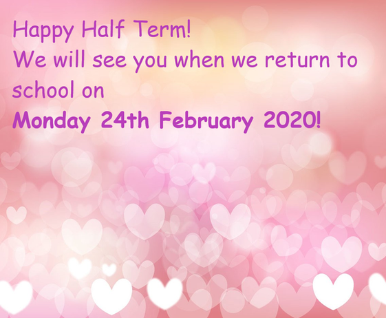 Happy Half Term!