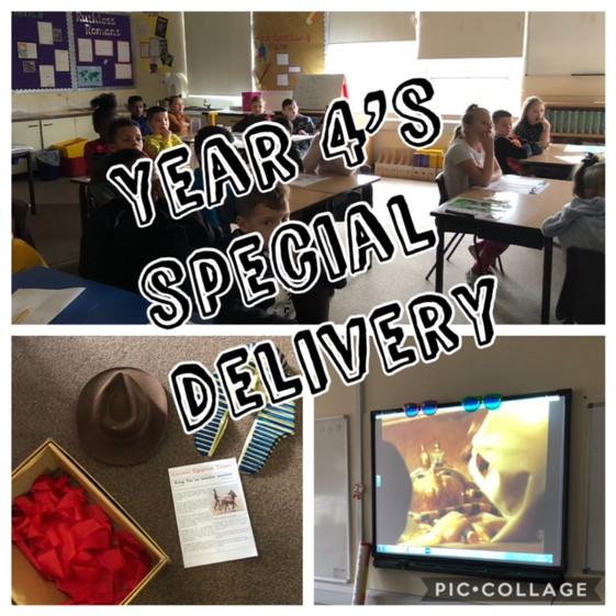 Y4's Special Delivery