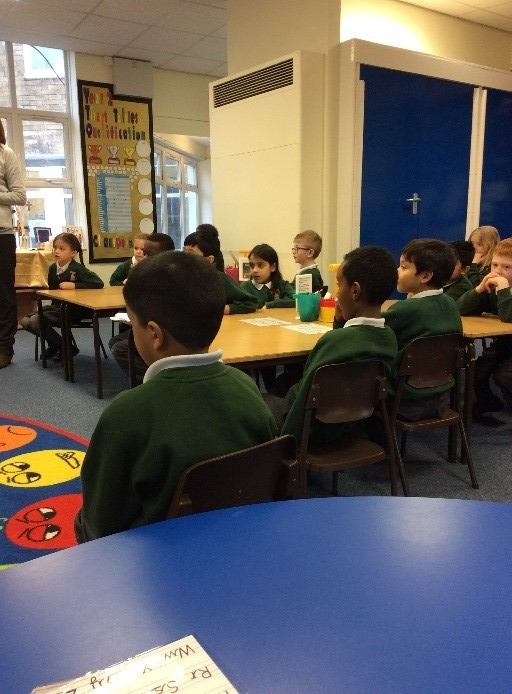 Y1 taught Y2 about Space!