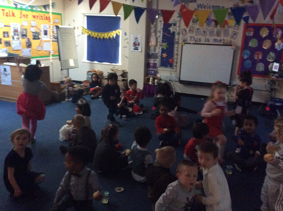 EYFS Christmas Party!