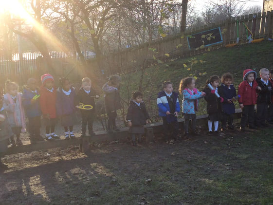 Happy Christmas from EYFS