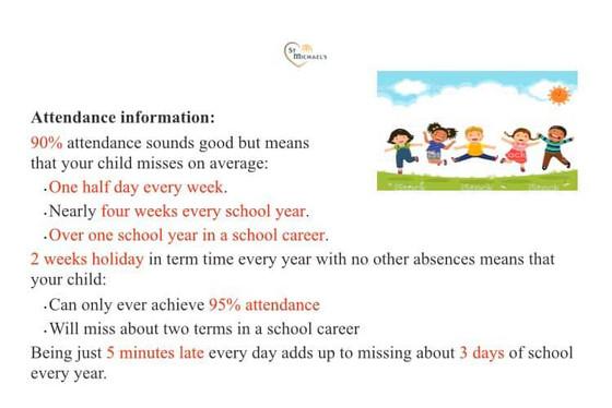 Important Attendance Information!