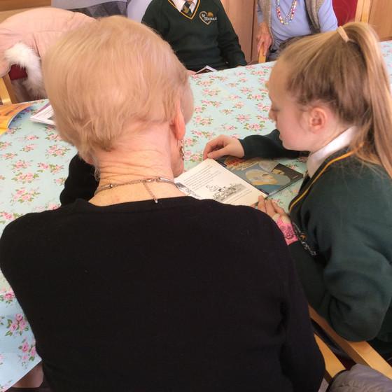 Reading at St Joseph's Home