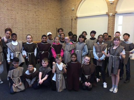 Y5 visit Jarrow Hall
