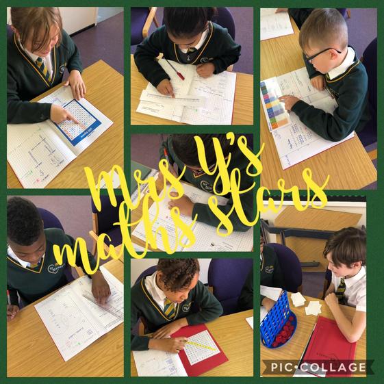 Mrs Yeoman's Math's Stars!