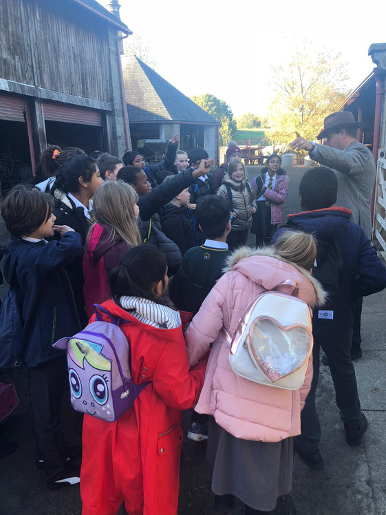 Y6 go to Beamish!