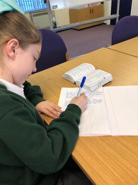 Improving writing in Y6