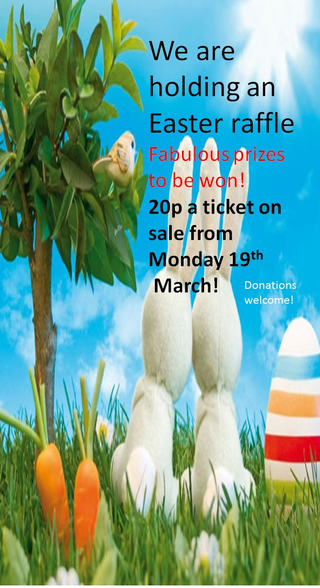 Coming up! Easter Raffle      St Michael's R C Primary