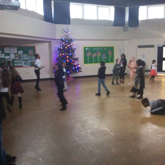 Y3 Christmas Party!