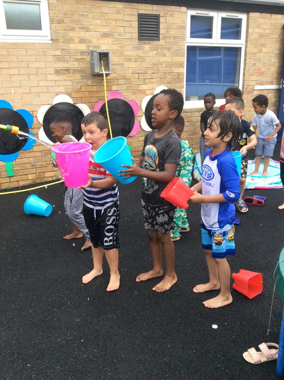 EYFS Water Day!