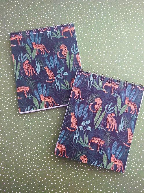 flip Notebook  - Cheetah