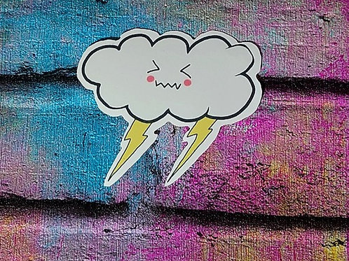Storm cloud Sticker