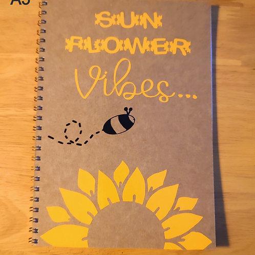 Sunflower Vibes... Notebook