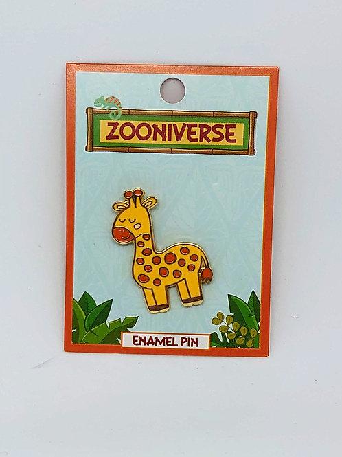 Giraffe Enamel Pin