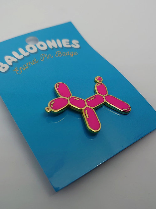 Balloon Dog Enamel Pin