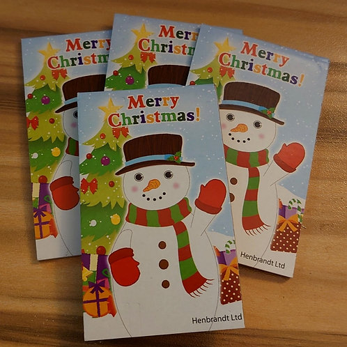 Snowman  Note pad