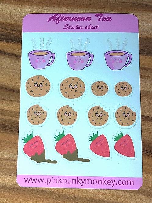 Afternoon tea Sticker sheet