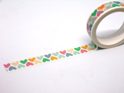 Hearts Washi Tape