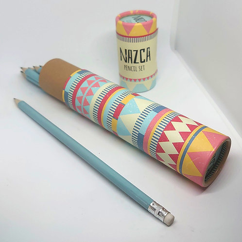 NAZCA 12pk HB pencils Tube