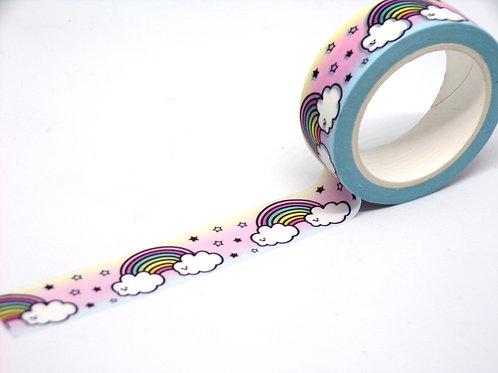 Rainbow, Cloud & Star Washi Tape