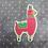Thumbnail: Llama Stickers 4pk