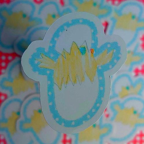 Brody's creation's - Spring chick sticker