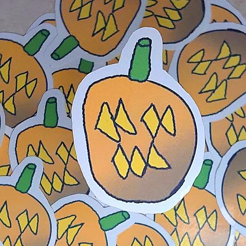 Brady's Creations - pumpkin sticker