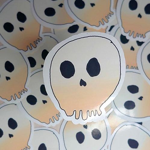 Brody's Creation's Skull Sticker