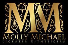 Molly Michael Licensed EstheticianmaybemorevividblackMMlogo.JPG