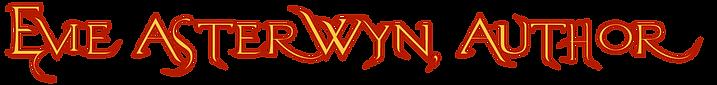 Evie Asterwyn Author logo text