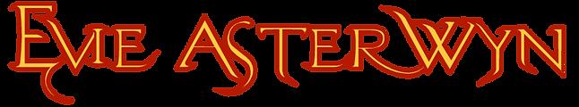 Evie Asterwyn Author text logo
