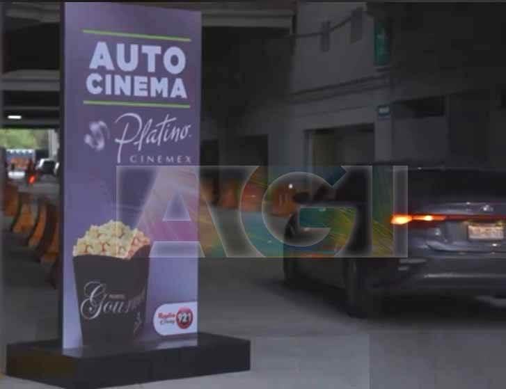 Vinil Mate Cinemex Platino