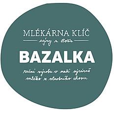 Čerstvý sýr s bazalkou