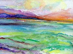 Watercolor No 9
